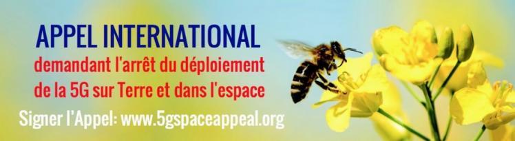 Appel international demandant l arret du deploiement de la 5g sur terre et dans l espace 920 x 252