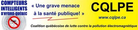 Coalition québécoise de lutte contre la pollution électromagnétique